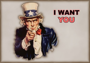 Uncle Sam wants us.  But who, exactly, is Uncle Sam?
