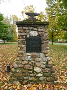 Monument to Elihu Burritt in New Marlboro, Mass. (author's photo)