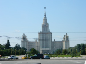 Moscow State University (photo by author)