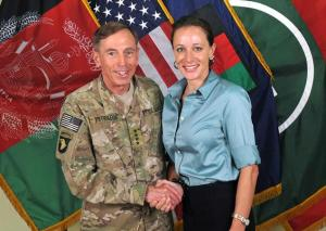 "Irony of ironies: The ""ascetic"" Petraeus bonded with Broadwell as they ran six-minute miles"