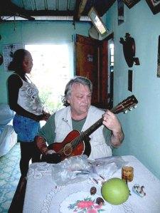 Joe Bageant in Belize