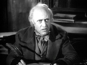 Alastair Sim as Scrooge