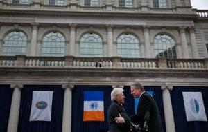 De Blasio and Clinton: Change We Can't Believe In