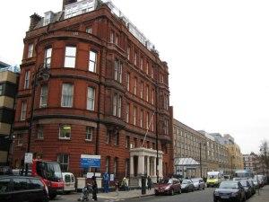 The Great Ormond Street Hospital in London