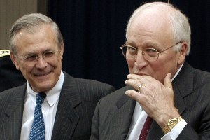 Rumsfeld and Cheney