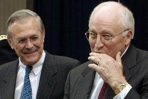 Rumsfeld and Cheney
