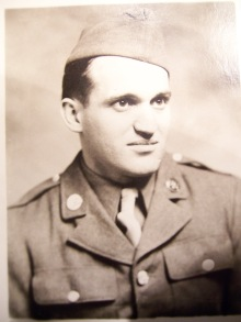 My father after being drafted in 1942