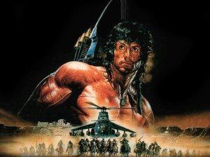 "As Rambo said, ""Do we get to win this time?"""