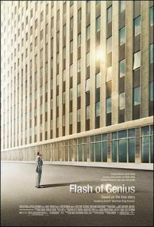 """Do you have what it takes to fight for your rights?  (Movie poster from """"Flash of Genius"""")"""