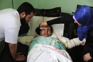 A Casualty of War in Gaza