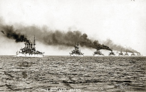 Mahan's vision attained: The U.S. Atlantic Fleet in 1907
