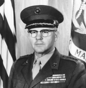 General Shoup, awarded the Medal of Honor and an outspoken critic of America's war in Viet Nam