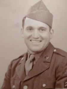 My Dad in the Army in 1945
