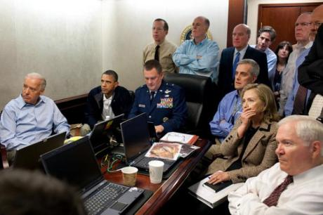 Obama watches as Osama bin-Laden is executed