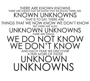 Unknown-Knowns