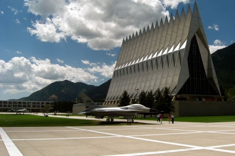 The Air Force Academy Chapel: God and Fighter Jets