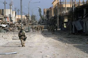 We had to destroy Fallujah to save it (2004)
