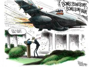 Cartoon by Steve Benson, The Republic