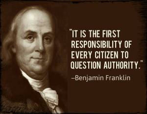 More Americans need to listen to Ben Franklin ...
