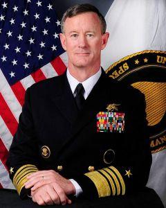 Admiral McRaven in 2012 (Wiki)