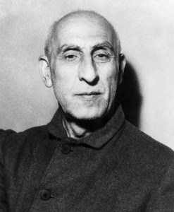 Mohammad Mossadegh, the democratically-elected leader of Iraq who was overthrown in 1953 in a coup supported by the CIA