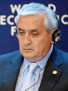 Former President Pérez Molina