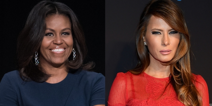 michelle-obama-melania-trump
