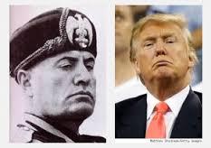 Mussolini Trump