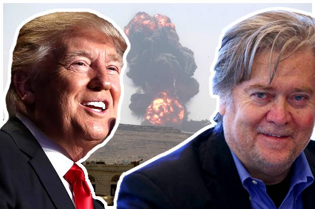 Bannon Trump war on Islam