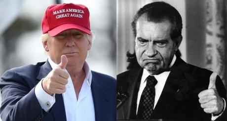 Donald Trump Richard Nixon
