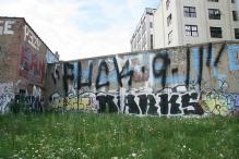 Fuck 9-11 grafitti