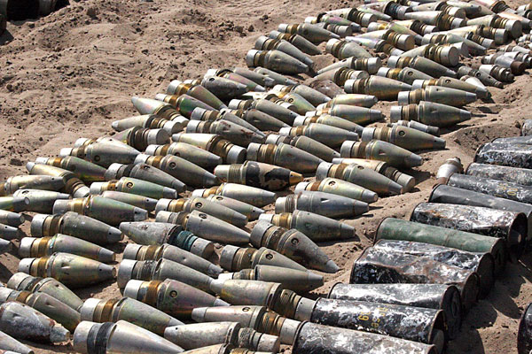Iraq weapons cache
