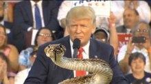 donald trump the snake
