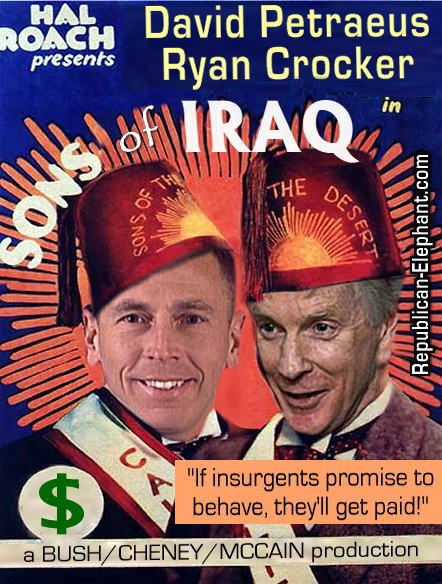 Iraq war petraeus bush