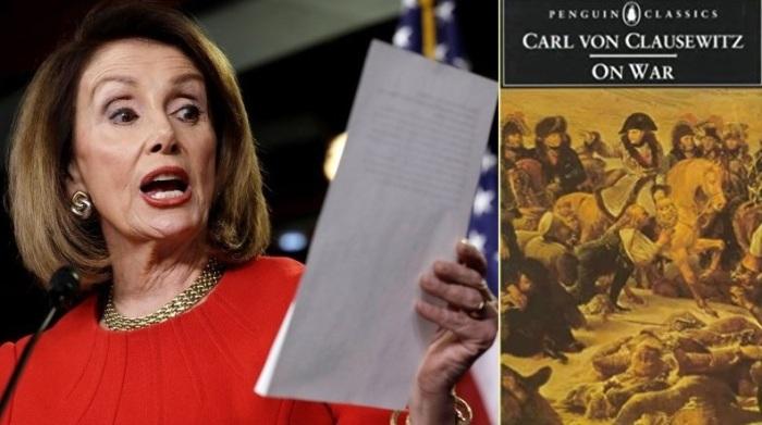 Nancy Pelosi Carl von Clausewitz