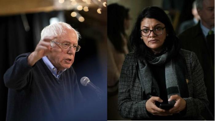 Bernie Sanders Rashida Tlaib