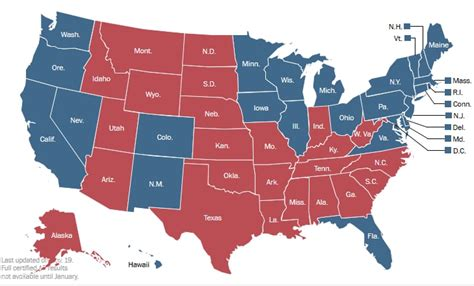 US Political map