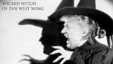 Donald Trump wicked witch